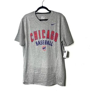 Nike Chicago Cubs T-shirt grey size clothes NWT